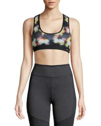 X By Gottex - Geometric-print Sports Bra - Lyst