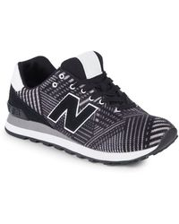New Balance - Beaded 574 Trainers - Lyst