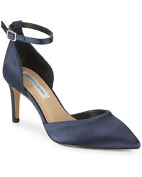 Saks Fifth Avenue - Mia Satin D'orsay Pumps - Lyst