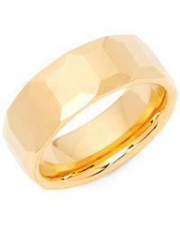 Perepaix - Faceted Metal Ring - Lyst