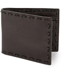 John Varvatos - Leather Continental Wallet - Lyst