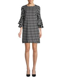 Beach Lunch Lounge - Tiered Bell-sleeve Cotton Dress - Lyst