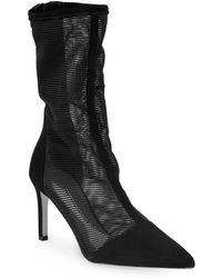 Cushnie et Ochs - Mesh Ankle Boots - Lyst