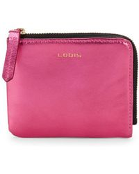 Lodis - Metallic French Wallet - Lyst