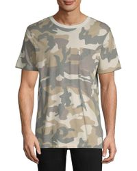 Wesc - Maxwell Camouflage Cotton T-shirt - Lyst