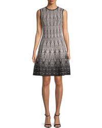 Ronny Kobo - Brianna Printed A-line Dress - Lyst