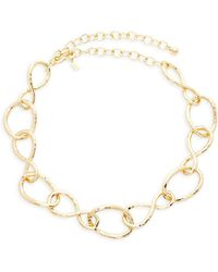 Kenneth Jay Lane - Twisted Link Necklace - Lyst
