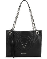 Valentino By Mario Valentino - Vera Leather Shoulder Bag - Lyst