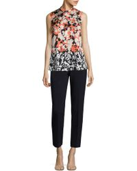 BOSS - Tiluna Solid Trousers - Lyst