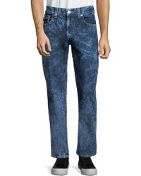True Religion - Straight-leg Flap-pocket Jeans - Lyst