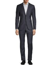 Strellson - Vince Madden Checkered Wool Suit - Lyst