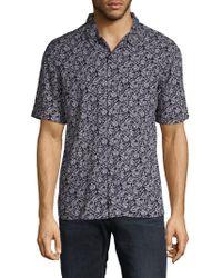 ELEVEN PARIS - Short Sleeve Printed Shirt - Lyst