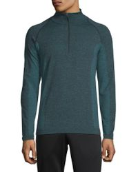 HPE - Cross X Seamless Quarter-zip Top - Lyst