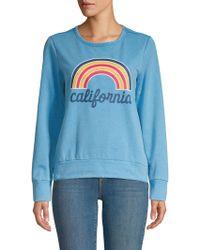 C&C California - Graphic Roundneck Sweatshirt - Lyst