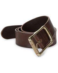 Frye - Classic Leather Belt - Lyst