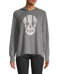 360cashmere - Graphic Cashmere Hoodie - Lyst