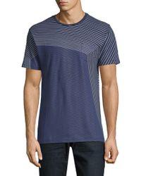 Slate & Stone - Striped Short-sleeve Cotton Tee - Lyst