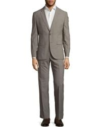BOSS - Two-button Long Sleeve Suit - Lyst