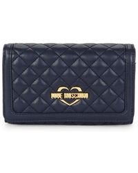 Love Moschino - Superquilted Continental Wallet - Lyst
