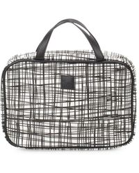 Saks Fifth Avenue - Textured Tassel Makeup Bag - Lyst