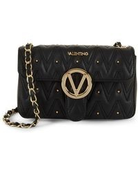 Valentino By Mario Valentino Embellished Leather & Chain-strap Shoulder Bag