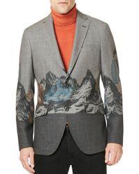 Etro - Mountain Wool Sportcoat - Lyst