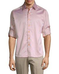 Robert Graham - Canton Cotton Casual Button-down Shirt - Lyst