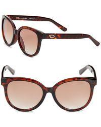 O By Oscar De La Renta - 54mm Wayfarer Sunglasses - Lyst