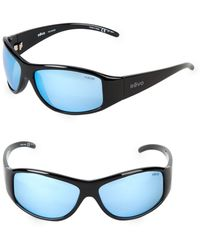 10b623ae3a Lyst - Ray-Ban Rectangular Wrap-around Sunglasses in Black for Men