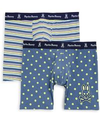 Psycho Bunny - Two-pack Stretch Cotton Boxer Briefs - Lyst