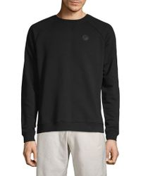 Versace - Raglan-sleeve Cotton Sweatshirt - Lyst