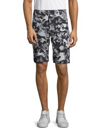 Greyson - Camouflage-print Buttoned Shorts - Lyst