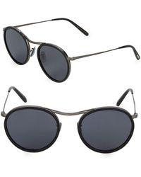 16813e3759 Lyst - David Yurman Dy651 Matte Black Square Wayfarer Sunglasses in ...