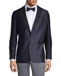 Burberry - Soho-fit Silk Wool Evening Jacket - Lyst