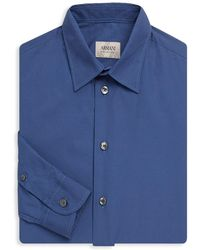 Armani - Dotted Regular-fit Shirt - Lyst