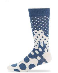 Happy Socks - Unisex Spotted Crew Socks - Lyst