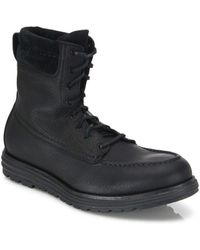 Cole Haan - Grand Os Waterproof Leather Boots - Lyst