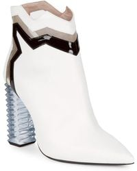 Aperlai - Jagged Suede Ankle Boots - Lyst
