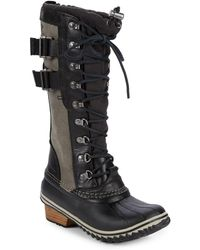 Sorel - Conquest Carly Ii Waterproof Boot - Lyst
