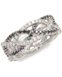 Kwiat - Twist Diamond & 18k White Gold Wedding Ring - Lyst