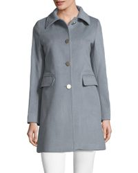 T Tahari | Sophie Long Coat | Lyst