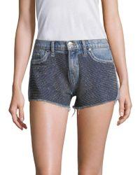 Hudson Jeans - Kenzie Denim Shorts - Lyst