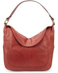 Frye - Campus Rivet Leather Hobo Bag - Lyst