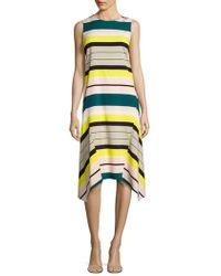 Lafayette 148 New York - Romona Striped Dress - Lyst
