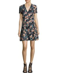 French Connection - Delphine Floral Dress - Lyst