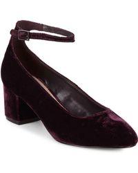 Saks Fifth Avenue - Amelia Almond Toe Court Shoes - Lyst