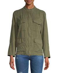 Sanctuary - Fray-trimmed Jacket - Lyst