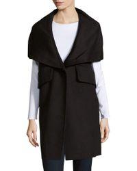 10 Crosby Derek Lam - Wool-blend Long-sleeve Coat - Lyst