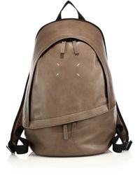 Maison Margiela - Clean Leather Backpack - Lyst