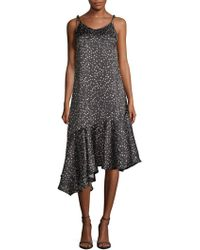 Haute Rogue - Star-print Maxi Dress - Lyst